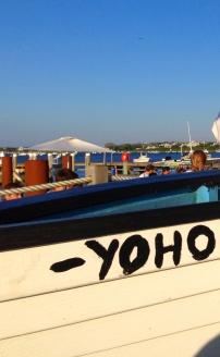 Original lap-strake Yoho dinghy